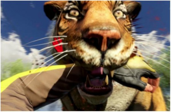 Far Cry 3 Tiger Attack