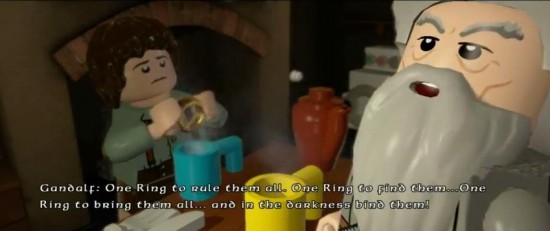 LEGO TLOTR Screen 2