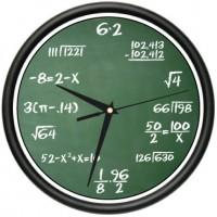 Math Class Clock
