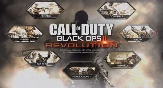 Call of Duty Black Ops II Revolution DLC Cover Image