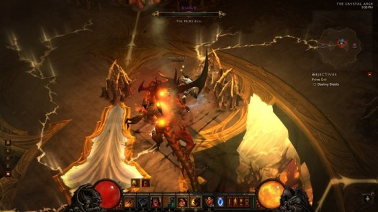 Diablo III Boss Fight