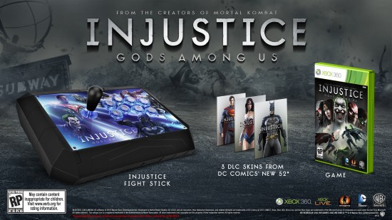 Injustice Gods Among Us Battle Edition XBox 360