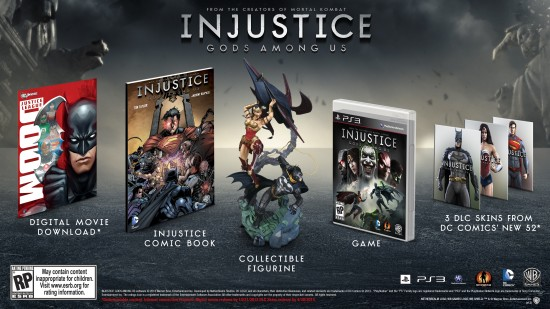 Injustice Gods Among Us Collectors Edition PS3