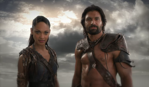 crixus and naevia
