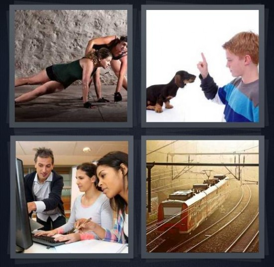 4 Pics 1 Word Cover Image