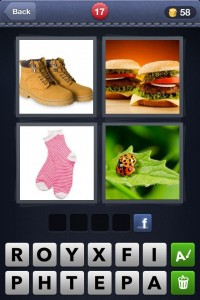 4 Pics 1 Word Screen Cap