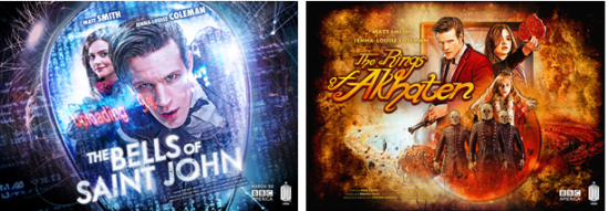 Doctor Who 7.2 Posters