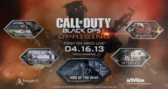 Black Ops II Uprising DLC