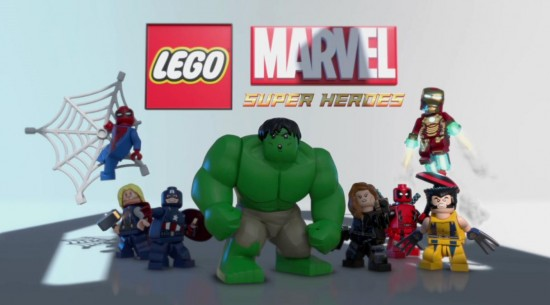 LEGO Marvel Super Heroes Cover Image