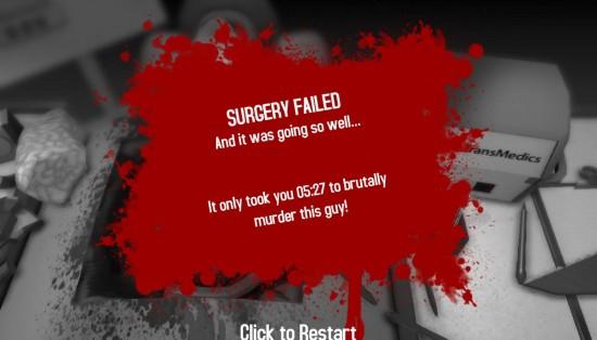 Surgeon Simulator 2013 Fail