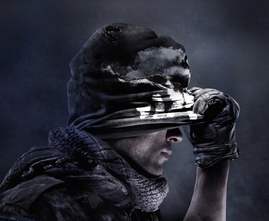 Call of Duty Ghosts Key Art
