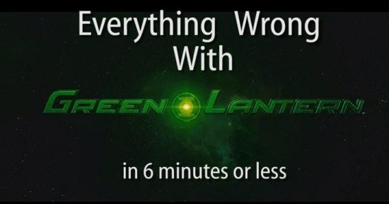 Green Lantern Cinema Sins Cover Image