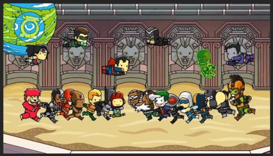 Scribblenauts Unmasked A DC Comics Adventure Cover Image