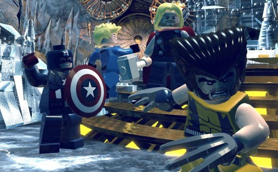 LEGO Marvel Super Heroes E3 Cover Image