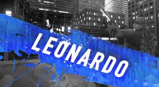 Leonardo TMNT OOTS Cover Image