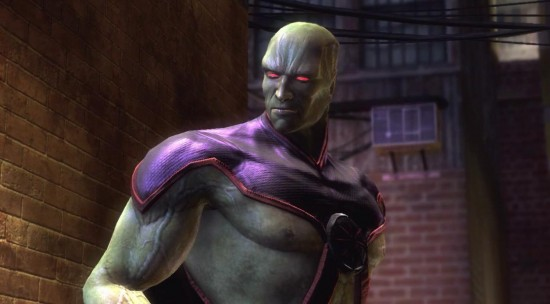 Injustice Gods Among Us Martian Manhunter DLC Cover Image