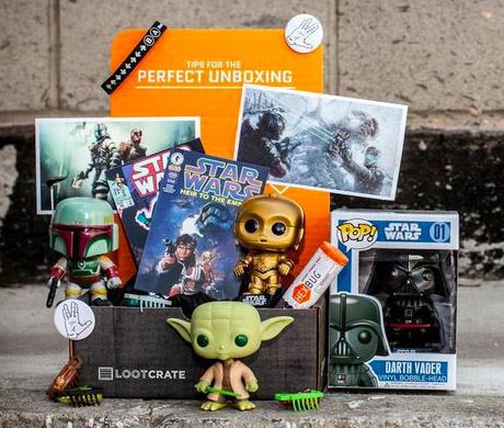 Loot Crate February 2013 COSMOS