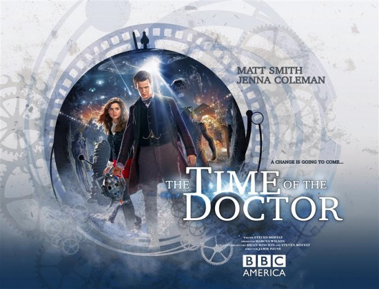 Picture shows: JENNA COLEMAN as Clara and MATT SMITH as The Doctor