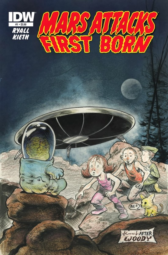 IDW Mars Attacks First Born