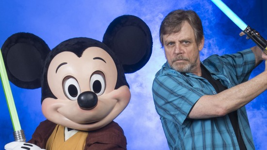 MARK HAMILL AT WALT DISNEY WORLD FOR STAR WARS WEEKENDS 2014