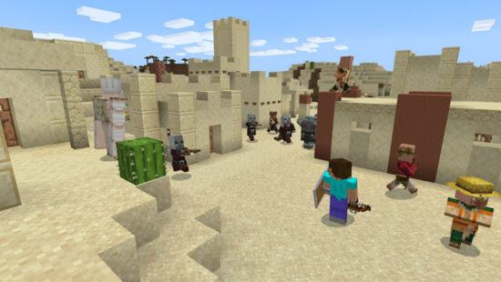 minecraft-desert-fight